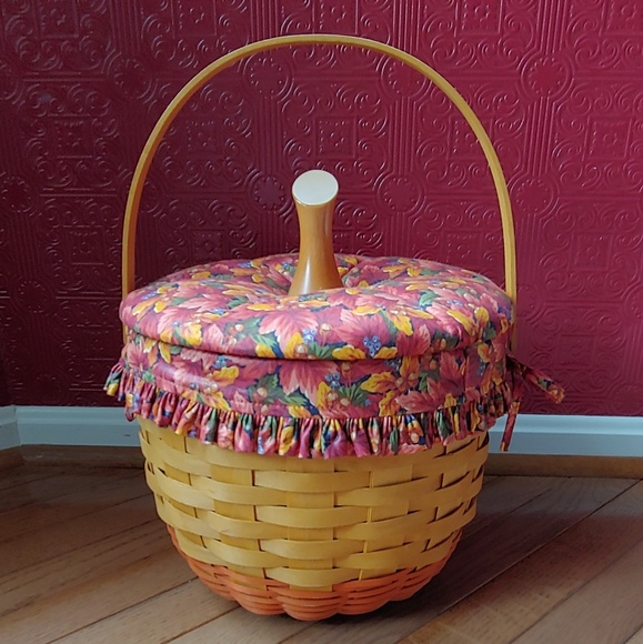 Longaberger Other - Longaberger Pumkin Basket